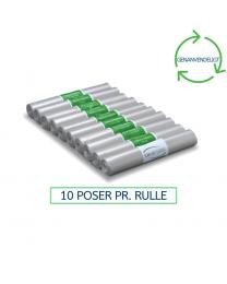 110L Transparente affaldssække 700x1100mm. 55my