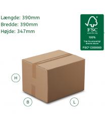 Stor papkasse til emballage
