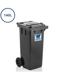 lille affaldscontainere i 140 liter