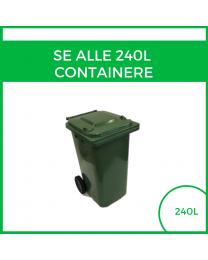 Alle 240L containere