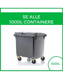 Alle 1000L containere
