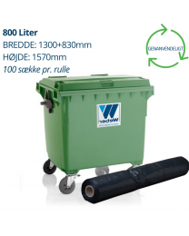 800 liters containerforing