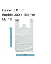 Blokpose i 550mm højde