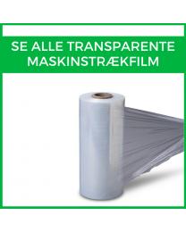Alle transparente maskinstrækfilm