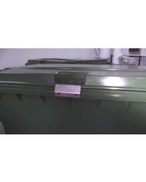 Beslag til montering af hængelås på affaldscontainere 120-330L