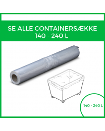 Alle 140 - 240 L containersække