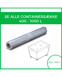 Alle 400 - 1000L containersække