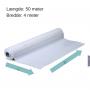 Hvid afdækningsfolie 4000 mm x 50m. 150 my