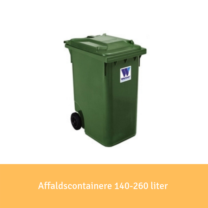 Affaldscontainere 660 liter